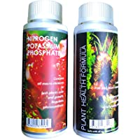Aquatic Remedies Aquatic Remedies Plant Health Formula & Plant Food Fertilizer Combo 120 ml, 120 milliL
