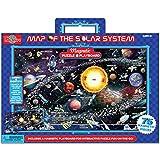 T.S. Shure Playboard magnético Mapa del sistema Solar y puzzle (83piezas)