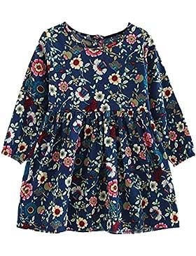 hibote Vestido para Niñas - 2017 otoño invierno moderna ropa de nina en manga larga princesa vestido