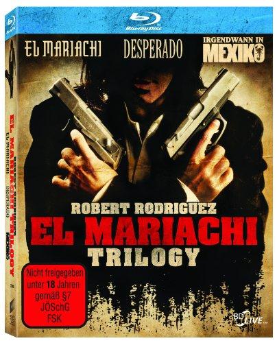Bild von El Mariachi Trilogy (Desperado/El Mariachi/Irgendwann in Mexiko) [Blu-ray]