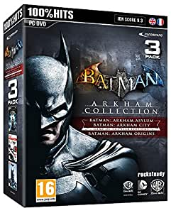 Batman Arkham City + Batman Arkham Asylum + Batman Arkham Origins