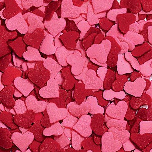 Wilton Jumbo Hearts Sprinkles, 3.25oz by Wilton