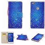 Nancen Huawei P10 (5,1 Zoll) Hülle , Magnetverschluss Standfunktion Brieftasche und Karten Slot , Taschen & Schalen