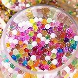 Cdet 10 Packs 1000 Tabletten Wasserperlen, Kristallkugeln wachsen magisch für sensorische Kinderspiele Spielen, Fuß Spa Pflanzen Dekorationen Kristall Schlamm -