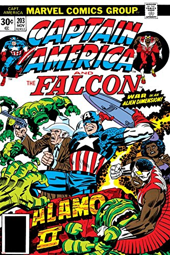 PALOMA NIEVES Captain America and The Falcon No.203 Cover: Captain America, Falcon, Marvel Comics and Thor Poster by Jack Kirby 24 x 36in -