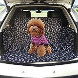 Cubierta de Asiento Impermeable Para maletero de Coche Carro Manta Funda Protector Antideslizante Protección de Perro, Gato, Animal y Mascota, Viajes
