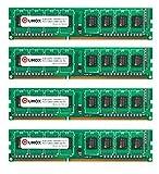 QUMOX 16GB (4X 4 GB) DDR3 1600MHz PC3-12800 1600 (240 PIN) DIMM-Speicher