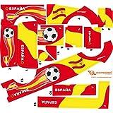 Stickers Adhesivos de Playmyplanet Fútbol España Compatibles con Playmobil Mini Bus 5267