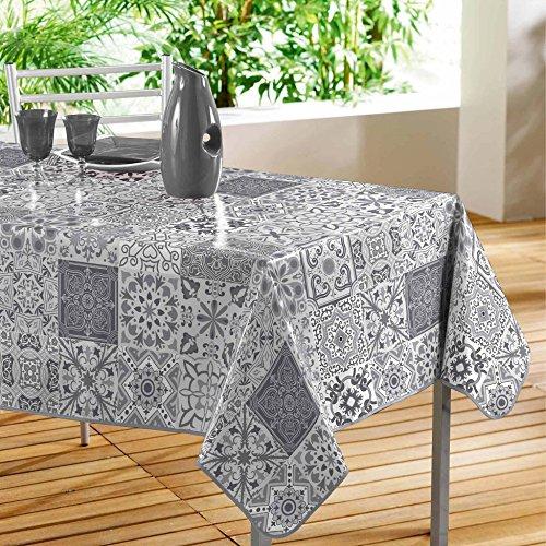 Décor Line persane mantel rectangular PVC gris 240x 140cm
