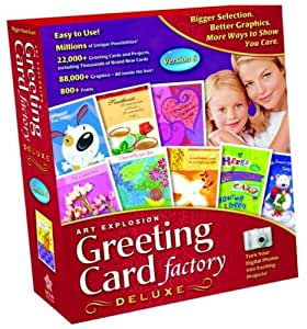 Greeting Card Factory Deluxe 6 (PC)