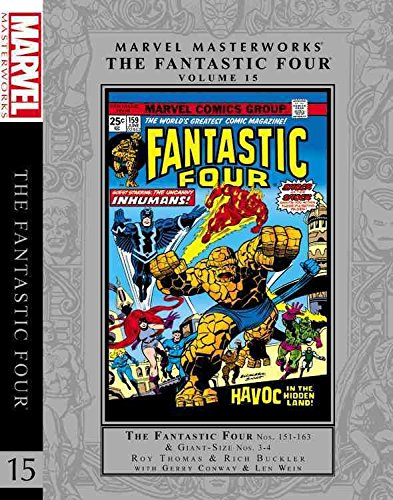 [Marvel Masterworks: Fantastic Four Volume 15] (By: Gerry Conway) [published: September, 2013]