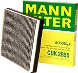Mann-Filter CUK 2855 Filtro, Aire Habitáculo