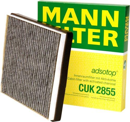 Mann Filter CUK2855 Filter, Innenraumluft adsotop (Air Filter V 8)