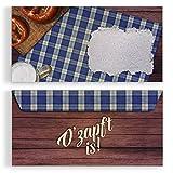 (20 x) Briefumschläge DIN-Lang Oktoberfest Einladungskarten Kuvert selbstklebend