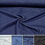 Dickerer Jeans-Stoff