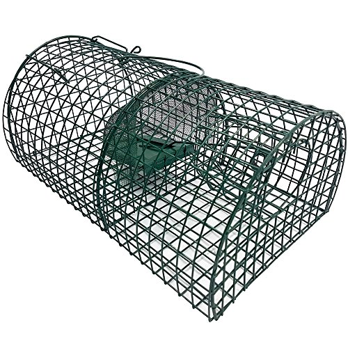 Lebend-Falle 40 cm Multi-Catch Ratten-Falle Mehrfachfalle Tierfalle für Lebendfang von Ratten und ähnlich großen Tieren thumbnail