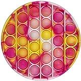 Silicone Push Bubble Sensory Pop it Fidget Toy,Antistress Giocattolo Sensoriale per Autismo ADHD ADD Bisogno Speciale Anti-An