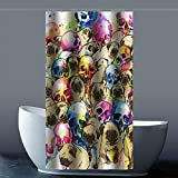 Brauch Pug 100% Polyester Fabrik Duschvorhang Shower Curtain 90 Zentimeters x 183 Zentimeters