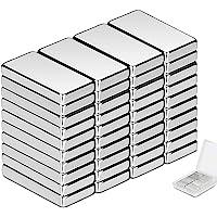 Wukong 40 Pièce Aimant Neodyme Carré,20x10x3 mm Premium Puissant aimants pour Réfrigérateur, Tableaux Magnétiques, Arts…
