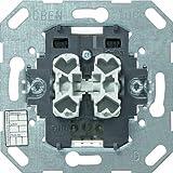 Gira 018200 Taster BA 2-fach 1 Punkt KNX EIB Einsatz