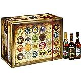 Adventskalender mit 24 erlesenen Premium Bieren (24 x 0.33 l)