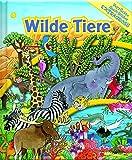 Wilde Tiere - Verrückte Such-Bilder extragroß - Hardcover-Wimmelbuch für Kinder ab 3 Jahren im XXL Format mit spannendem Sachwissen