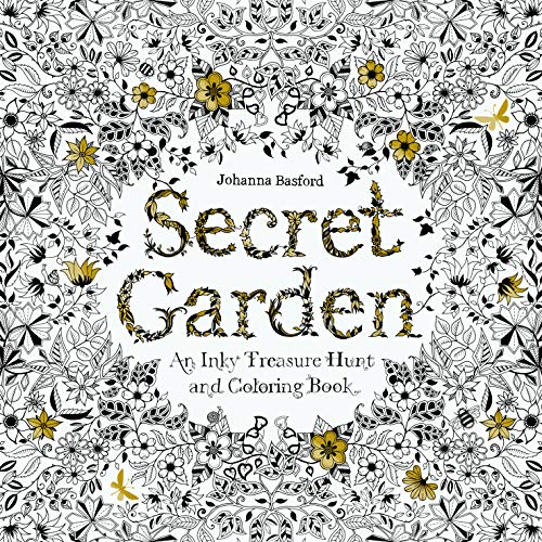 Secret Garden: An Inky Treasure Hunt: An Inky Treasure Hunt and Colouring Book