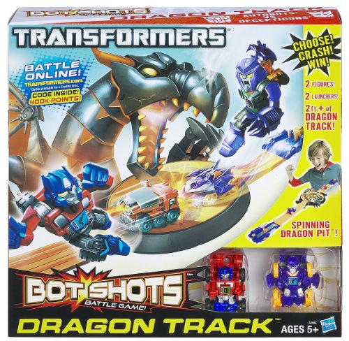 Hasbro A2584E24 - Transformers Bot Shots Beast Dragon Crash Set