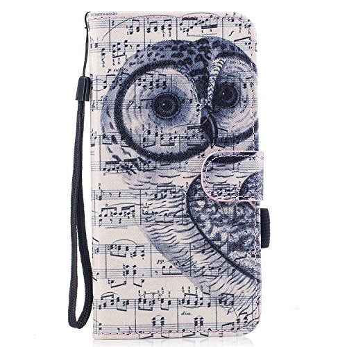Per iphone 7 Plus / iphone 8 Plus Cover , Per iphone 7 Plus / iphone 8 Plus Custodia , Custodia Book Style Design Portafoglio per iphone 7 Plus / iphone 8 Plus, COZY HUT® Custodia per iphone 7 Plus /  Nota gufo