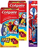 #6: Colgate Kids Spiderman Oral Care Kit (Spiderman Toothpaste - 80 g(Pack of 2) and Spiderman Toothbrush))