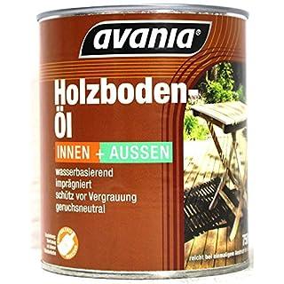 Avania Holzboden Öl Innen & Außen Hell 750 ml