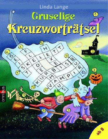 Gruselige Kreuzworträtsel - Kreuzworträtsel Halloween-rätsel