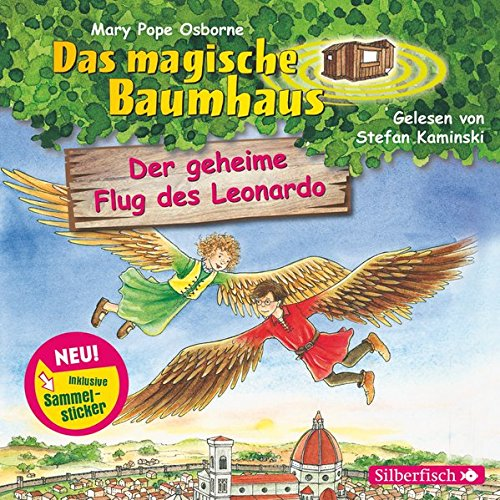 Preisvergleich Produktbild Der geheime Flug des Leonardo: 1 CD (Das magische Baumhaus, Band 36)