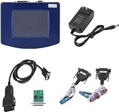 Hehilark Digiprog 3-V4.94 Diagnose Scanner Auto OBD2 OBDII Diagnosegerät zum Lesen und Löschen von Fehlercodes Diagnose funktioniert für alle Fahrzeuge