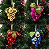 Christmas Ball Grape Strings Tree Decoration Ornaments Pendant Ball Hanging ADORNMENTS By PartyHut®