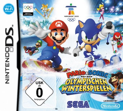 DS - Mario&Sonic Winter Olympic Games, - Und Sonic Ds Mario