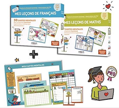 Mes Cartes Mentales INTEGRAL Maths + Franais cycle 3 - CM1, CM2, 6e