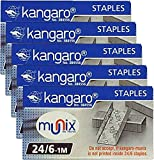 Stapler Pins no.10 Small & Stapler Pins 24/6 Big HP 10 Stapler Pin Kangaro Stapler Pin no HP-45 Kangaroo Stapler Pin Big Stapler Pins Box Stapler Pins 10 (24/6)