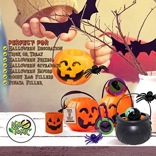 THE TWIDDLERS Set von 110 Halloween Thema Party Mitgebseln Scherzartikel - Perfekt für Partytaschenfüller - Pinatas - Geburtstag & Halloween Partys - Weihnachten Etc. - 6