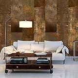 murando - PURO TAPETE - Realistische Tapete ohne Rapport und Versatz - Kein sich wiederholendes Muster - 10m VLIES Tapetenrolle - Wandtapete - modern design - Fototapete - Abstrakt Textur Gold f-A-0541-j-a