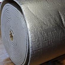 phil trade - Esterilla aislante térmico y acústico (1 x 1 m, con aluminio)