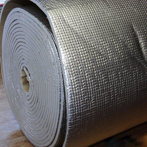 Preisvergleich Produktbild 1m² Dämmmatte Anti Dröhn Matte Bitumen-Ersatz 1x1 m thermisch akustisch mit Alu