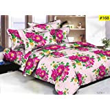 Comforter Light Weight For Double Bed - Double Bed Luxurious Comforter Set, 1 Comforter + 1 Double Bedsheet + 2 Pillow Cover (4 Pc Set)
