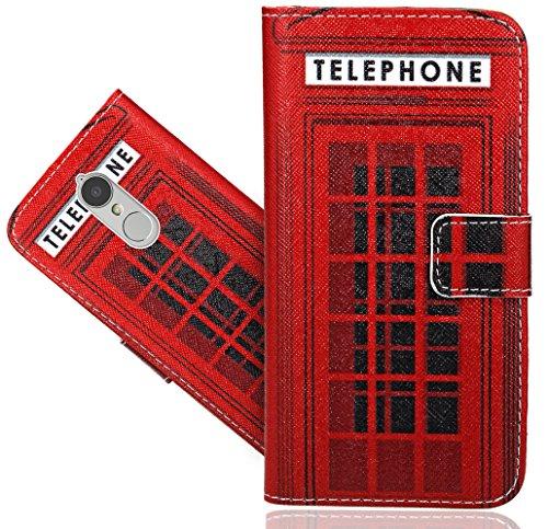 Preisvergleich Produktbild Lenovo K6 Handy Tasche,  FoneExpert® Wallet Case Flip Cover Hüllen Etui Hülle Ledertasche Lederhülle Schutzhülle Für Lenovo K6