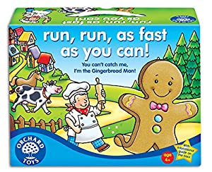 Orchard Toys Run, Run, as Fast as you Can! - Juego de mesa (en inglés)