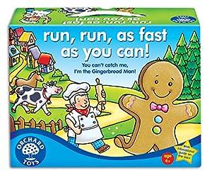 Orchard Toys Run, Run, as Fast as you Can! - Juego de mesa (en inglés)