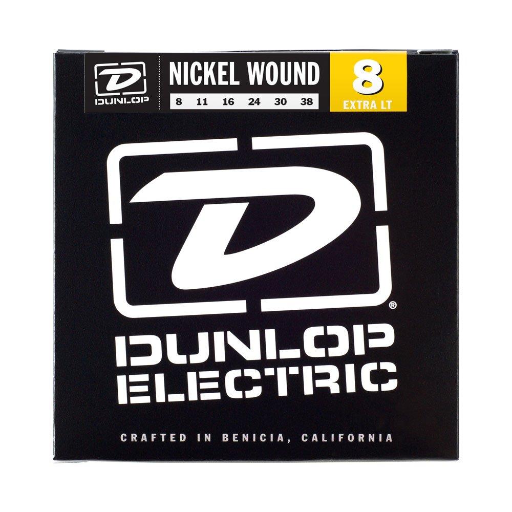 Dunlop DEN0838extra Light 8–38nickel corde per chitarra elettrica