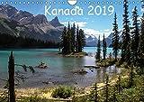 Kanada 2019 (Wandkalender 2019 DIN A4 quer): Berge und Seen im Westen Kanadas (Monatskalender, 14 Seiten ) (CALVENDO Natur) - Frank Zimmermann