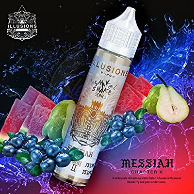 Messiah (50ml) Plus e Liquid by Illusion Vapor Nikotinfrei von Illusions Vapor