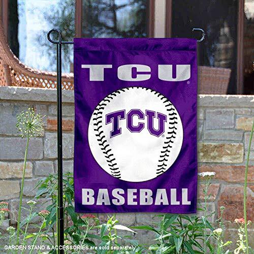 Texas Christian gehörnten Frösche Baseball Garten Flagge und Hof Banner -